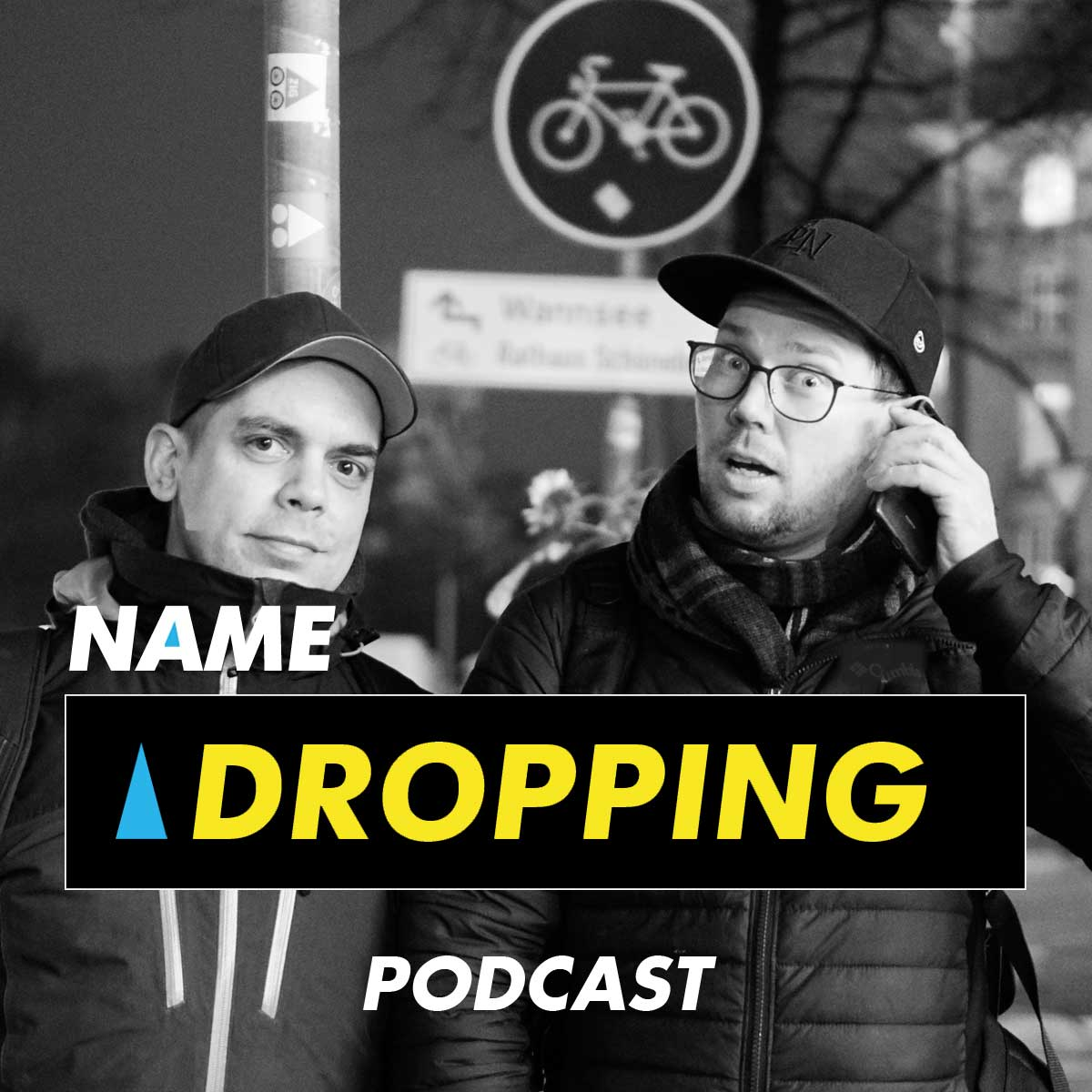 Name Dropping Podcast Cover